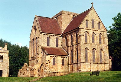 Brinkburn Priory in Northumberland