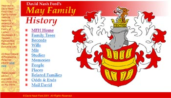 May Family History Website