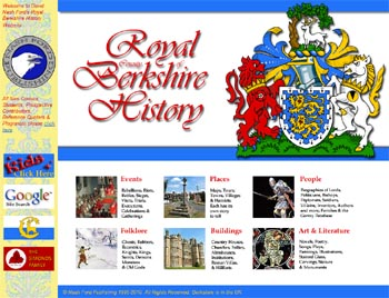 Royal Berkshire History Werbsite