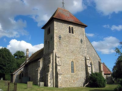 Aldworth Church in Berkshire